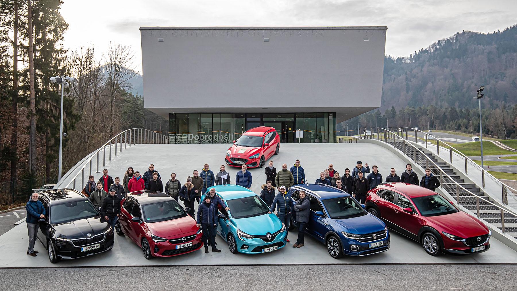 Foto galerija z druženja s finalisti v izboru Slovenski avto leta 2020