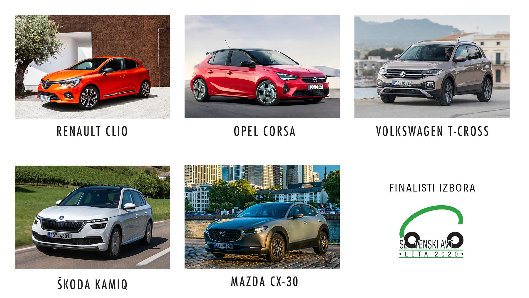 Slovenski avto leta 2020 - finalisti