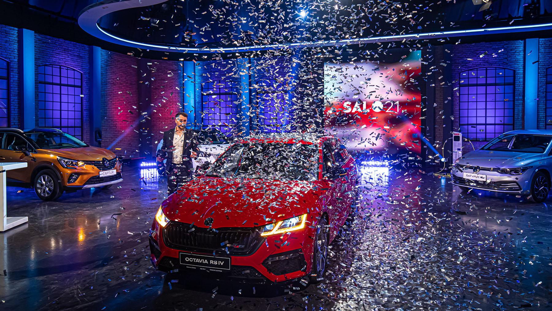 Škoda octavia je Slovenski avto leta 2021
